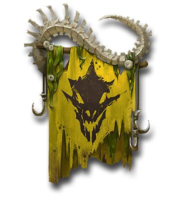 Lizardmen Faction Banner