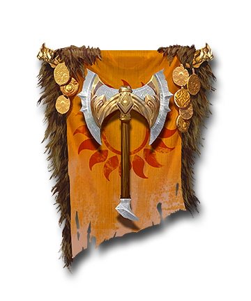 Barbarian Faction Banner