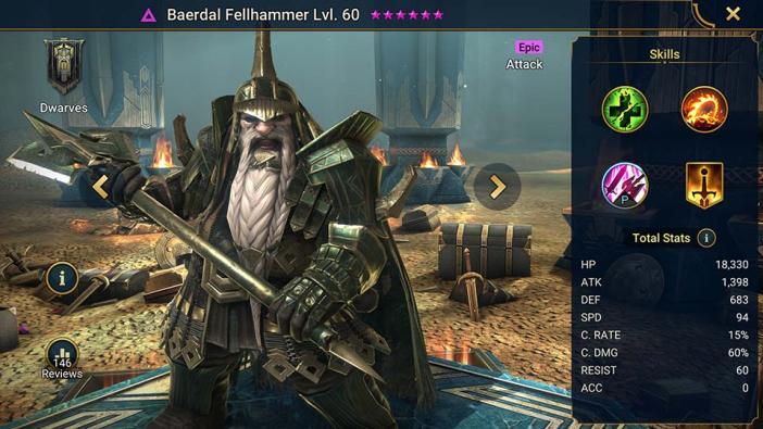 Baerdal Fellhammer