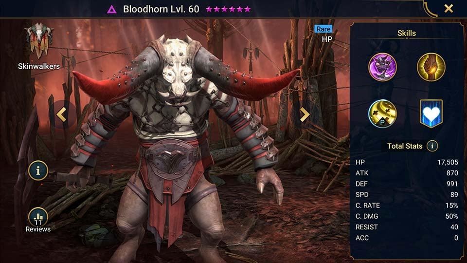 bloodhorn