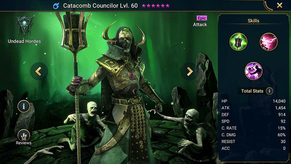 catacomb councilor