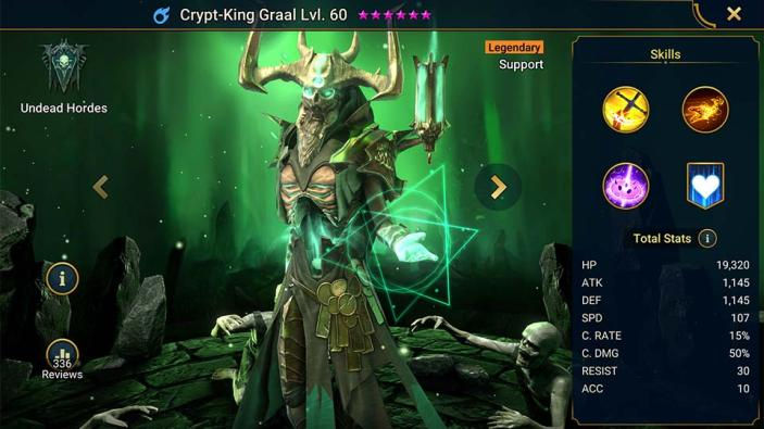Crypt-King Graal