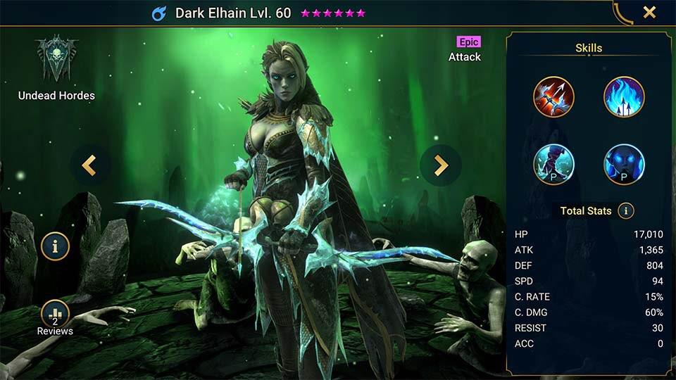 dark elhain