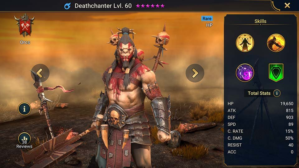 deathchanter