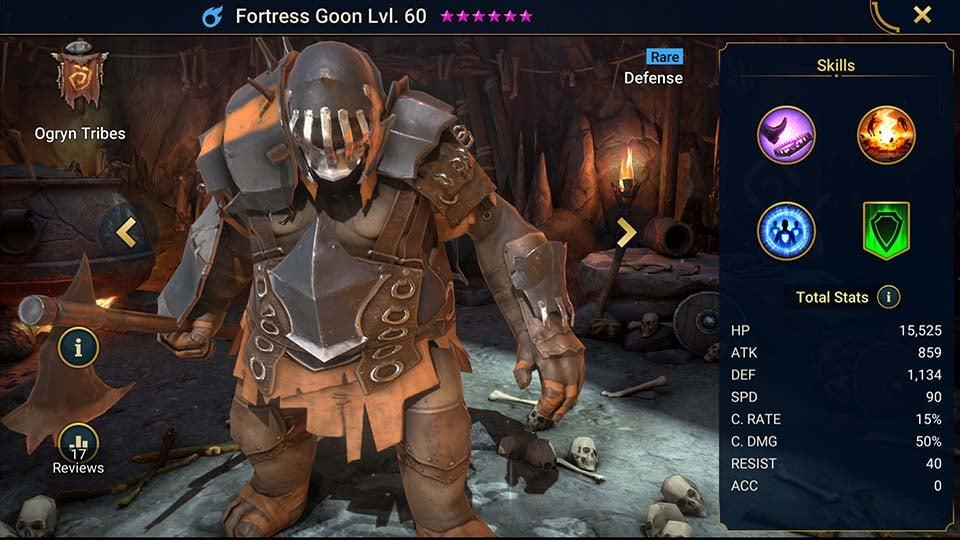 fortress goon