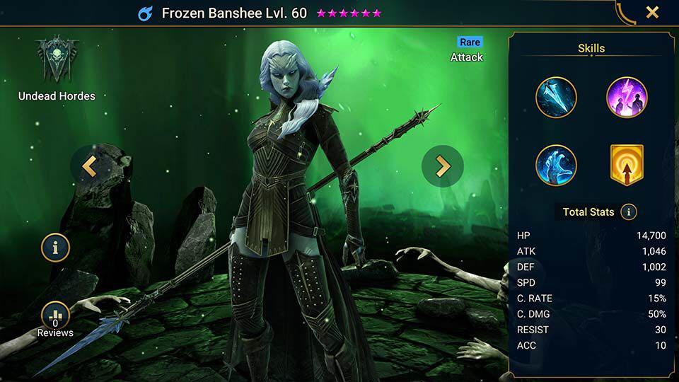 frozen banshee