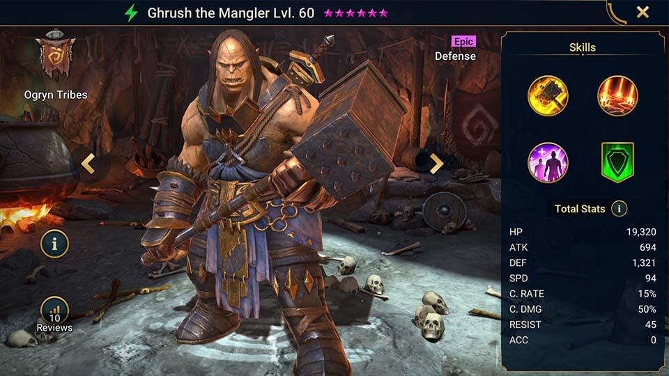 ghrush the mangler