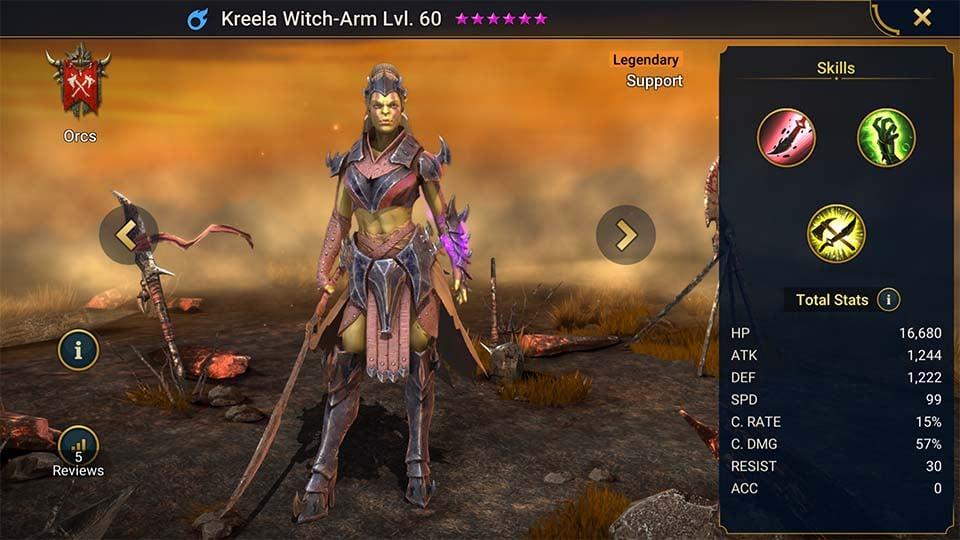 Kreela Witch-Arm
