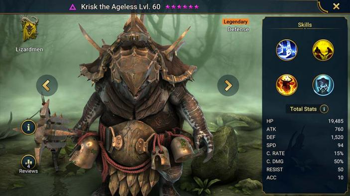 Krisk the Ageless
