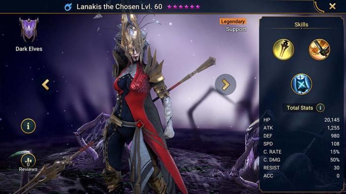 Lanakis the Chosen