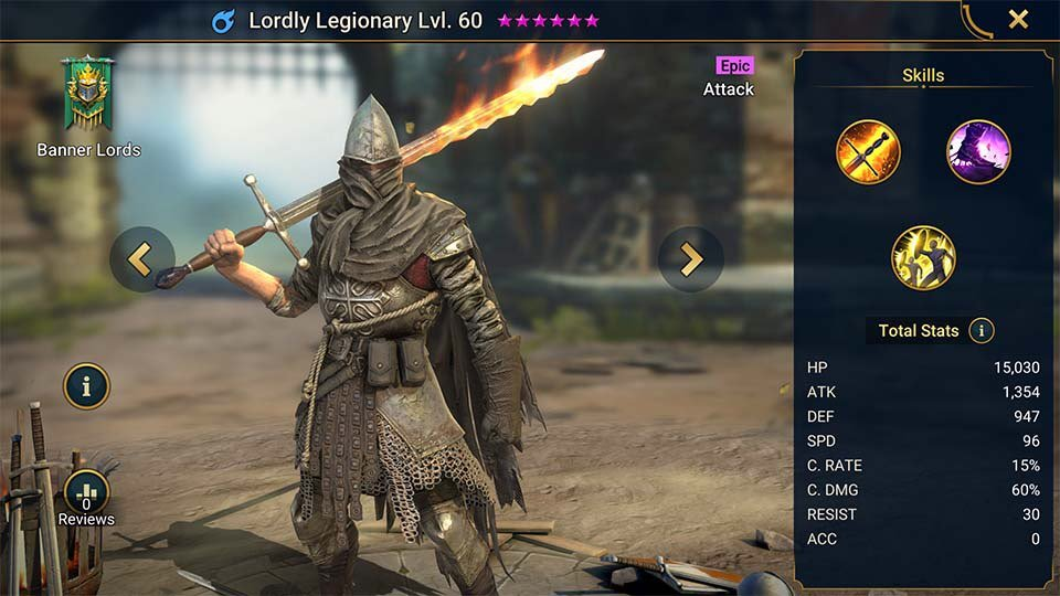 lordly legionary