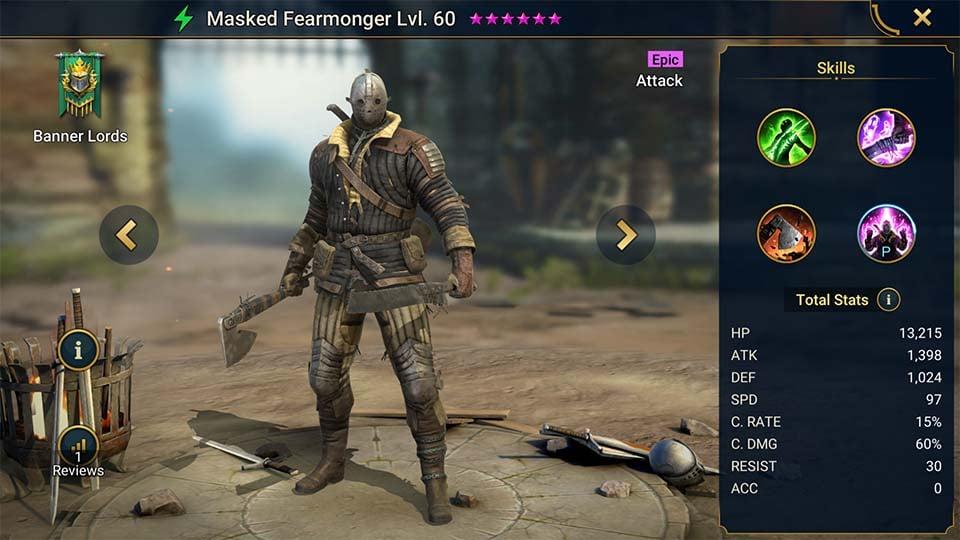Masked Fearmonger