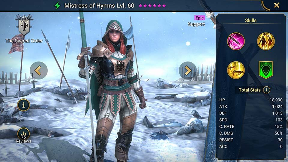 Mistress of Hymns
