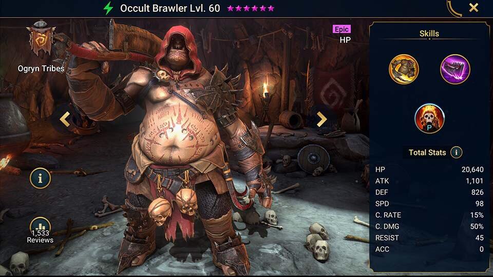 Occult Brawler