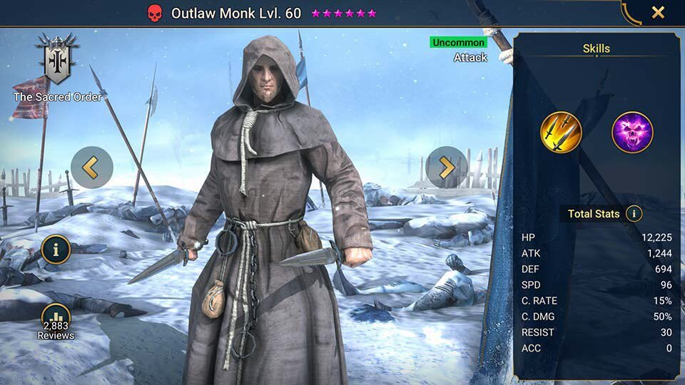 outlaw monk