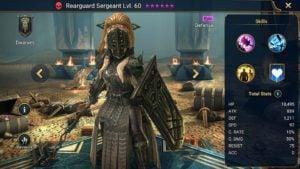 rearguard sergeant