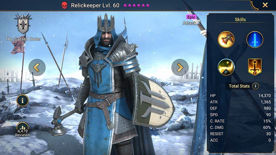 relickeeper