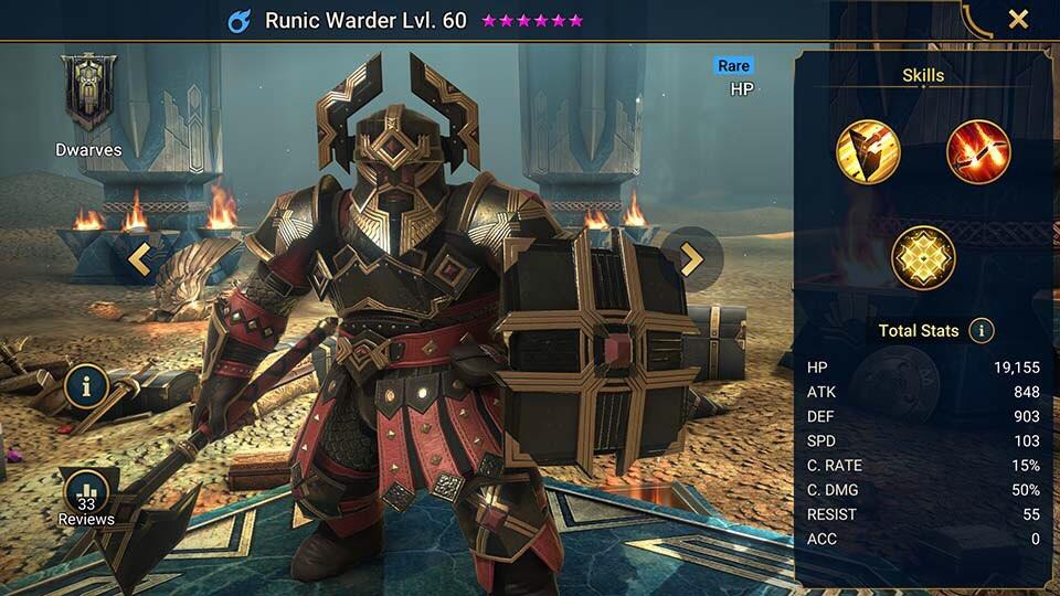 runic warder