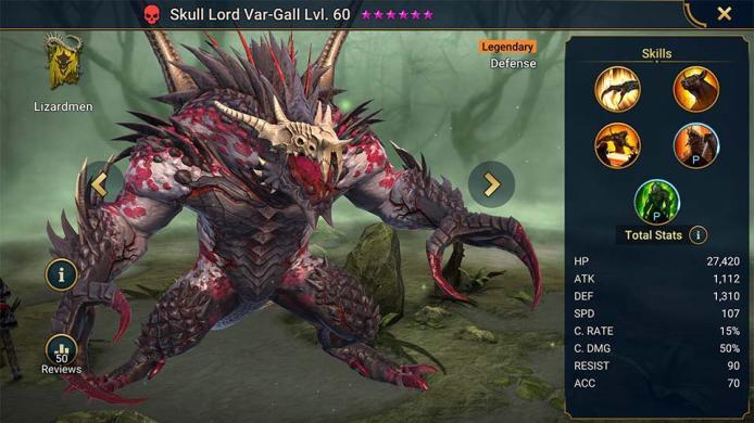 Skull Lord Var-Gall