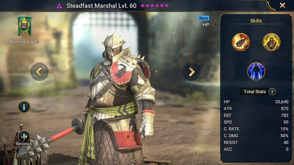 steadfast marshall