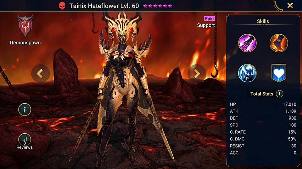 tainix hateflower