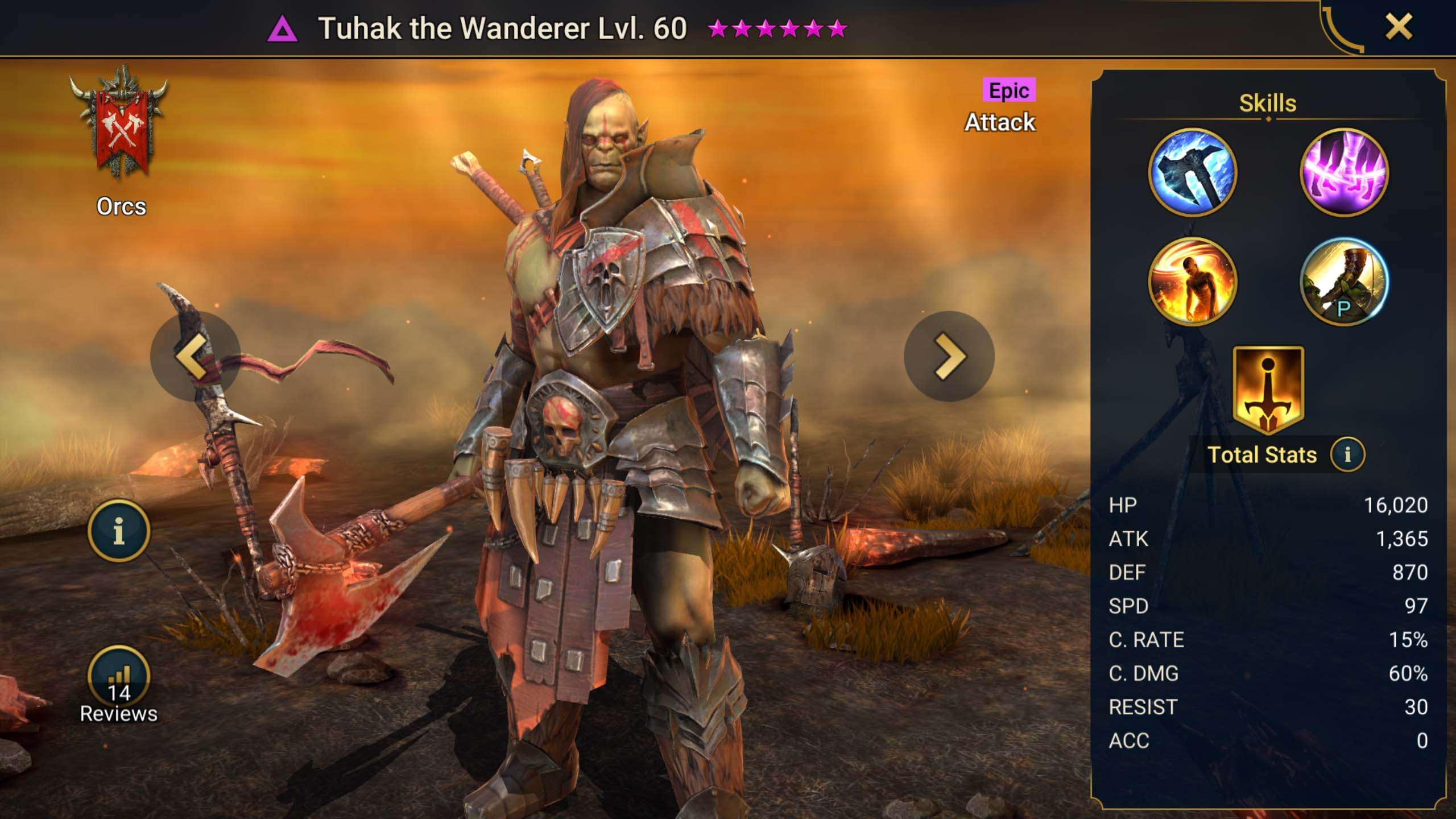 tuhak the wanderer