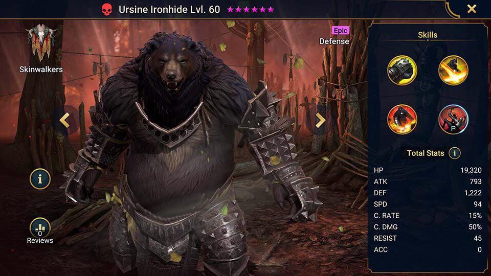 ursine ironhide