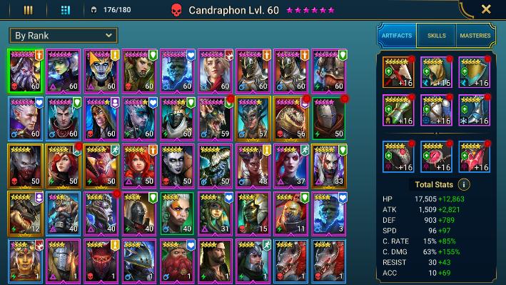 champion list