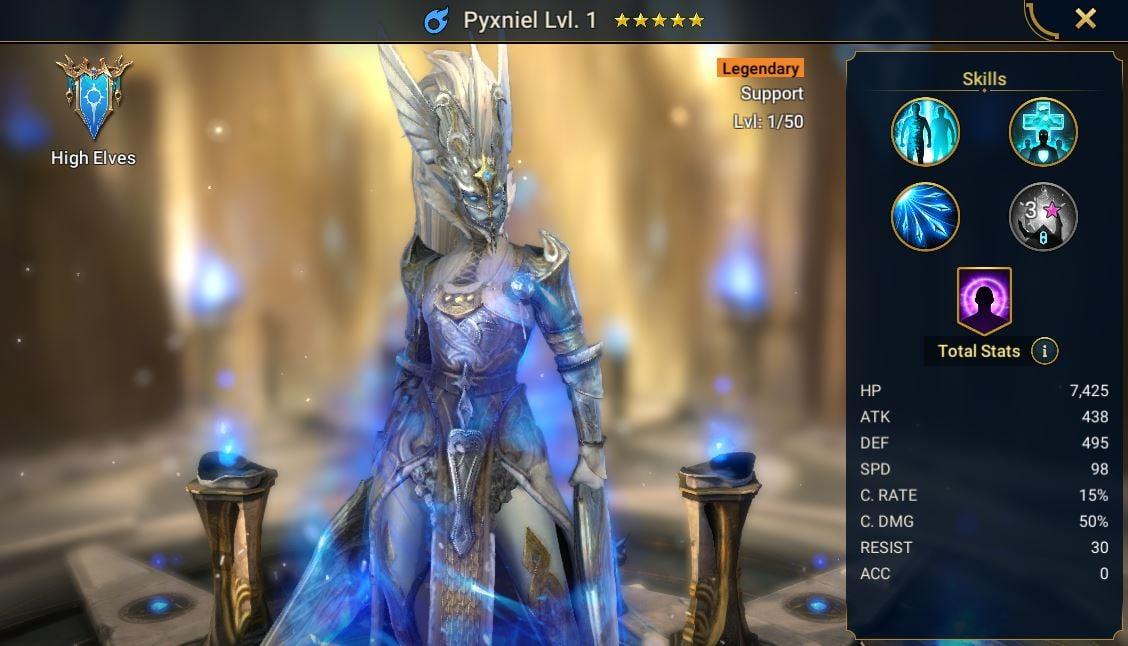 Pyxniel champion