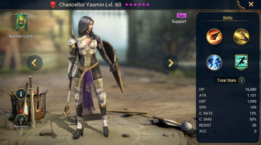 Chancellor Yasmin