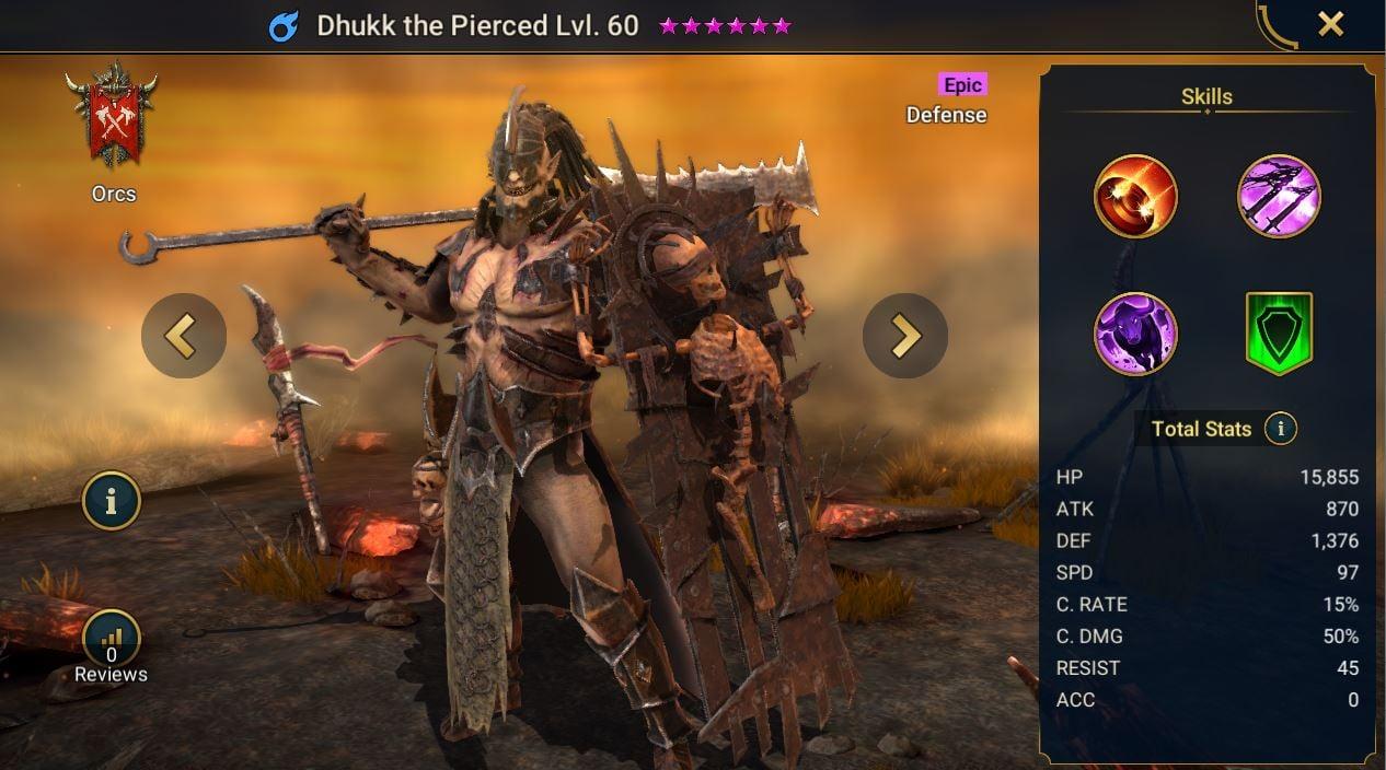 Dhukk the Pierced
