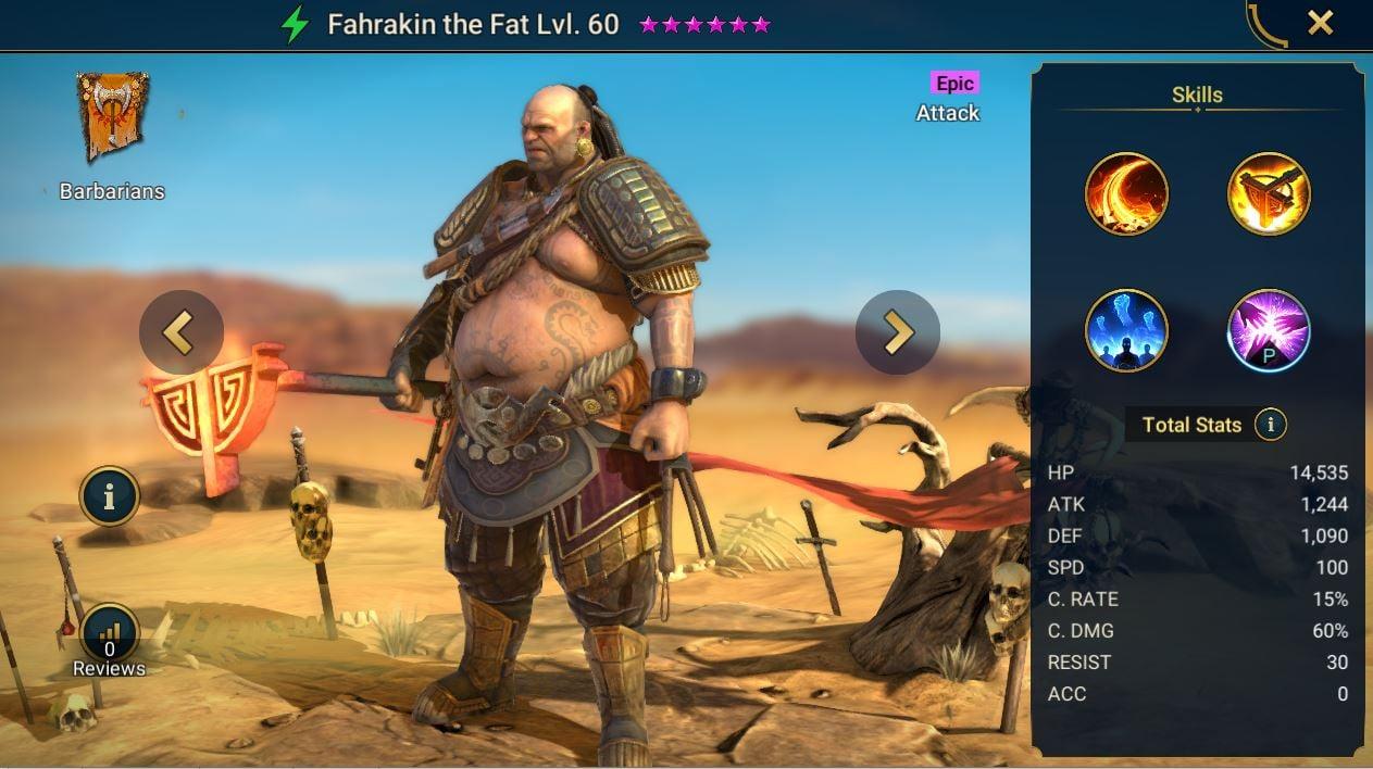 Fahrakin the Fat