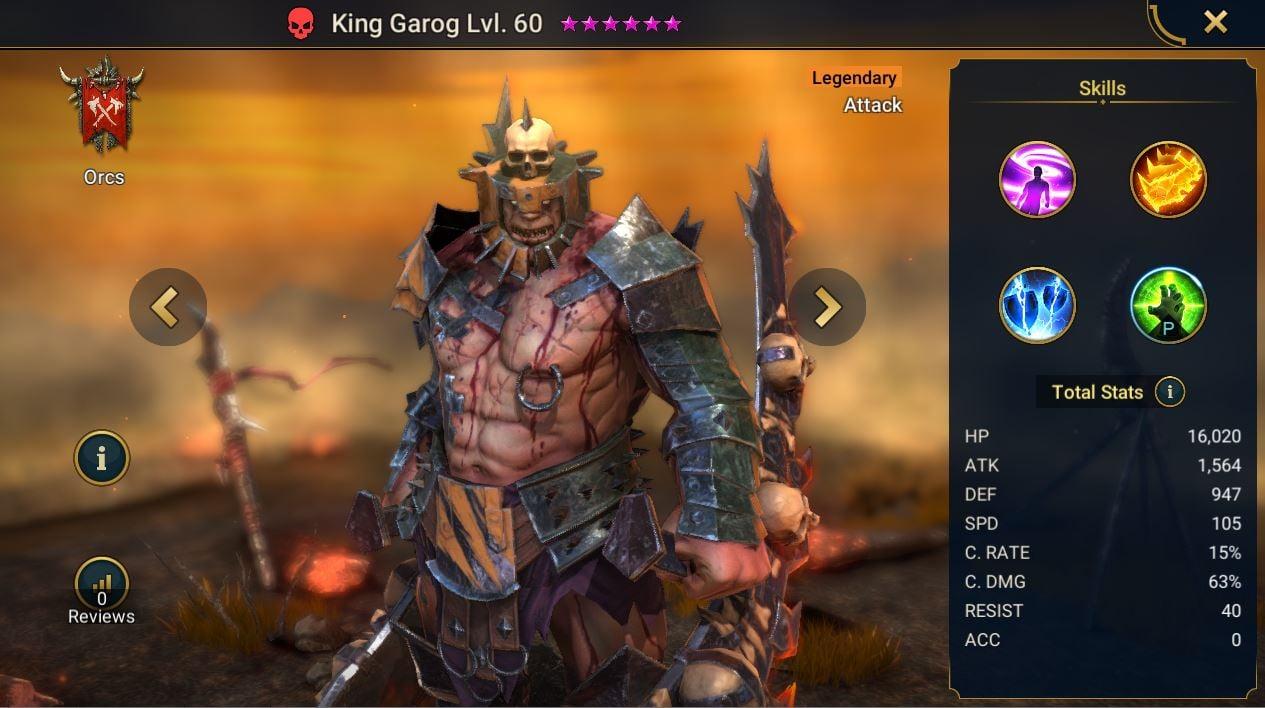 King Garog