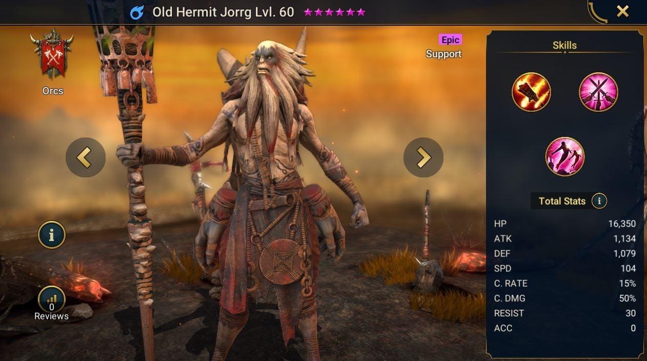 Old Hermit Jorrg