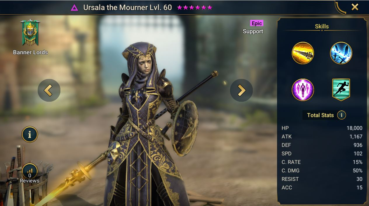 Ursala the Mourner