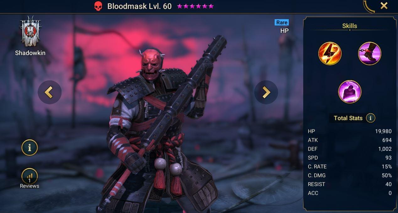 Bloodmask