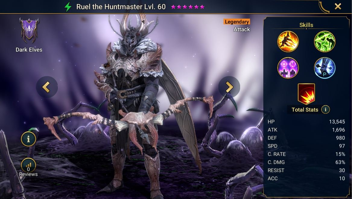 Ruel the Huntmaster